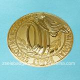 Moneta del regalo di promozione con oro placcato