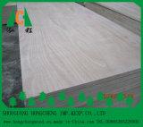 Chapas de madera contrachapada comercial / chapa con buena calidad
