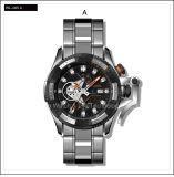 Orologio di Speical di modo di sport dello svizzero della vigilanza degli uomini meccanici dell'acciaio inossidabile