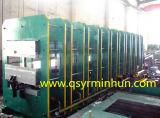 コンベヤーベルトのゴム製シートのゴム製加硫装置の出版物機械
