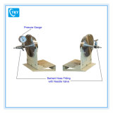 Assemblée articulée de fermeture sous-vide avec le soutien de bride du four de tube de 101 millimètres de diamètre
