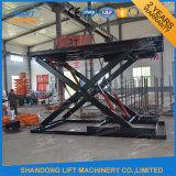 Levage mécanique hydraulique stationnaire de véhicule de garage