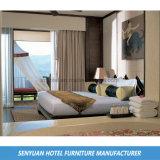 自然なペンキの供給のホテルの寝室の木のワードローブ(SY-BS209)