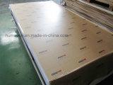 Precio competitivo PMMA precio de acrílico transparente y coloreado de 3m m del molde de la hoja