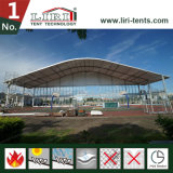 De halve Tent van de Koepel met Tent Twee van het Dek van de Legering van het Aluminium Dubbele de Tent van de Verdieping