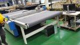 Cortador de couro de oscilação do CNC da máquina de estaca da faca