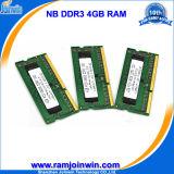 RAM компьтер-книжки PC10600 1333 4GB DDR3