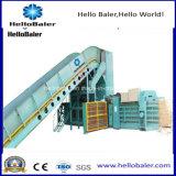 Automatische Ballenpreßhorizontale hydraulische Presse-Maschinen-Maschine für Altpapier/Pappe/Plastik