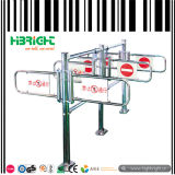 Supermarket Access Control Barrier Automatic Swing Gate