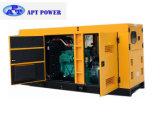 Reserve250kva/200kw Cummins Dieselgenerator mit wetterfestem Kabinendach