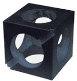 幸運の極度の精密花こう岩の立方体