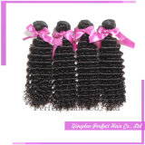 販売の100%年のバージンの人間の毛髪の完全な波の毛