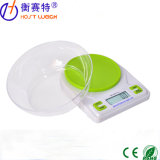 dispositivo electrónico del alimento de la dieta del LCD de la escala del peso de la cocina de 5kg Digitaces