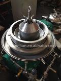 Máquina automática do centrifugador do disco do petróleo verde-oliva da descarga Dhy400