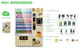 Máquina expendedora combinada Commerical del café de la pantalla táctil del LED