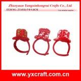 Vendita diretta della fascia all'ingrosso di natale della decorazione di natale (ZY16Y179-1-2-3 27CM)