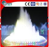 Fonte ao ar livre musical decorativa do jardim da água com luz do diodo emissor de luz