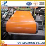 DX51D SGCC prepintado galvanizado de materiales de construcción acero de la bobina Se utiliza para Hojas de techo