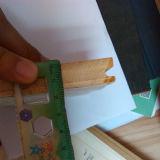 Plancher en bambou solide d'enduit UV horizontal normal de couleur