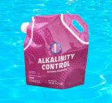 Alcalinidade acima do bicarbonato de sódio para a piscina