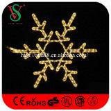 LED-Motiv-hängende Weihnachtsseil-Motiv-Schneeflocke-Leuchten