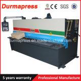 유압 네모로 하는 가위 (깎기) 기계 10*2500를 자르는 CNC
