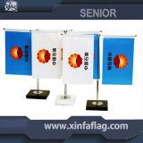 Портативный флаг таблицы/изготовленный на заказ флаг стола стойки