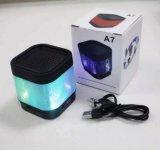 Suono senza fili variopinto dell'altoparlante dell'indicatore luminoso A7 Bluetooth del LED con la radio di FM