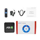 A96X Amlogic S905X Internet IPTV des Android-6.0 3D 4K Ott intelligenter Fernsehapparat-Kasten-gesetzter Spitzenkasten