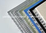Panneaux en aluminium de nid d'abeilles des matériaux de construction 20mm pour des façades de mur