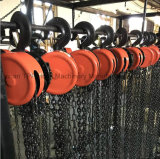 Hsz 시리즈 2000kg 휴대용 손 드는 공구 건축 사슬 블럭
