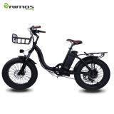 Venta caliente América y montaña 48V 750W 20inch del mercado de Europa plegable la bici eléctrica del neumático gordo para la venta