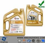 La construction à plusieurs fils rescellable étiquette des collants pour lubrifier le module d'huile à moteur