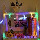Foto-Klipp-Zeichenkette-Lichter der Dekoration-LED