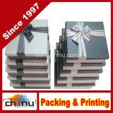 Caja de embalaje del regalo del papel de imprenta de Cmyk de cuatro colores (1291)