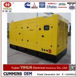 Conjunto de generador diesel eléctrico del pabellón silencioso de la potencia de Shangchai (58kw-720kw)