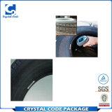 アルミホイルの接着剤の接着剤はタイヤのステッカーのラベルを加硫させる