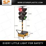 Feu de signalisation portatif de DEL, signaux de contrôle de trafic, sémaphore de circulation