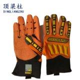 セリウムが付いている機械影響保護TPRの手袋を反切りなさい