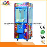 견면 벨벳은 최신 판매를 위한 클로 장난감 아케이드 게임 기중기 자동 판매기를
