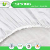 中国卸し売りテリー防水自然な綿によって合われるシート様式のマットレスの保護装置