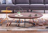 Sofá moderno popular de la tela de la sala de estar con tamaño pequeño (S6081)