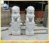 Leeuwen van de Beschermer van het Standbeeld van de Leeuw van het graniet de Hand Bewerkte Chinese