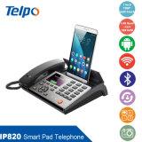 Telpo Televiewの会合ビジネスVoIPのスマートな電話