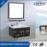 シンプルな設計の壁の鋼鉄未完成の浴室の虚栄心