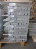 anodo sacrificale 28.5kg dello zinco di 360*40mm