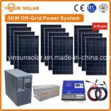 3000W het Systeem van de van-net ZonneMacht voor PV van de Zonne-energie van het Huis Systeem