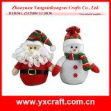 Venta de la tapa de la visualización de la Navidad de la decoración de la Navidad (ZY15Y053-1-2)
