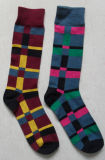 Glückliche Mannschafts-Socken der Baumwollmänner mit glücklichem Entwurf