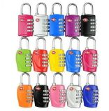 4-Dial Travel Bag Accessories Tsa Lock